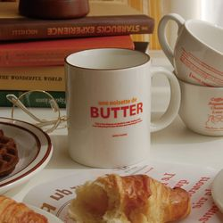 BUTTER mug 버터 머그컵