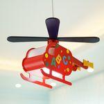 레드 헬기 LED 수입 키즈 펜던트 방등 조명 (램프포함)