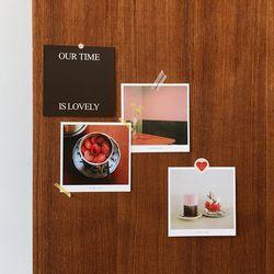 postcard set (red)
