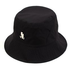 SV Metal Shiny Black Bucket Hat 버킷햇