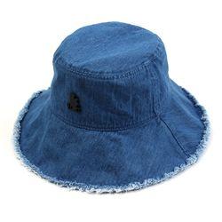 Thunder Denim Vintage Over Bucket Hat 오버버킷햇