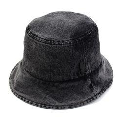 Washing Black Denim Bucket Hat 버킷햇