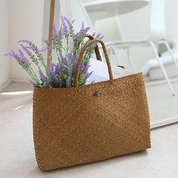 꽃꽃이 라탄 가방 (라탄바구니)