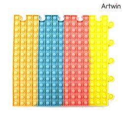 18000 파스텔 푸시팝 퍼즐 초대형 사각