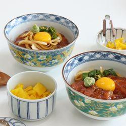 일본 돈부리 사케동 전사 볼 그릇