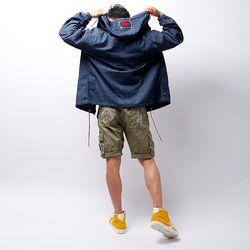 그린바나나 남자 청점퍼 청자켓 바람막이 solid denim jumper
