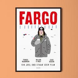 파고 M 유니크 인테리어 디자인 포스터 영화 A3(중형)