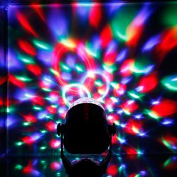 LED 휴대용 미러볼 파티조명 싸이키 노래방조명