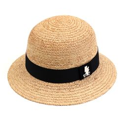 Thunder Summer Raffia Cloche Hat 여름페도라
