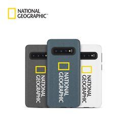내셔널지오그래픽 갤럭시S10 5G 브랜드로고 샌디 케이스