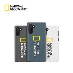 내셔널지오그래픽 갤럭시노트10+ 브랜드로고 샌디 케이스