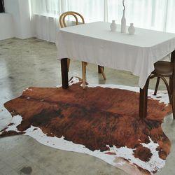 프리미엄 인조송치-카우(커피) (155x190cm)