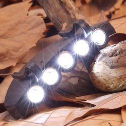 LED5구캡라이트/모자렌턴