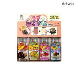 1000 토핑 슬라임 믹스 지우개 BOX(16)