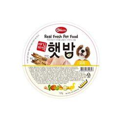 애견비책 햇밥 오리 120g 강아지 사료캔