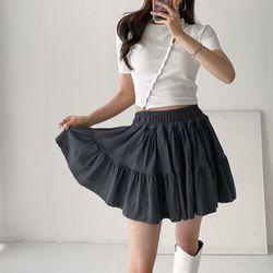 Diary Cancan Mini Skirt