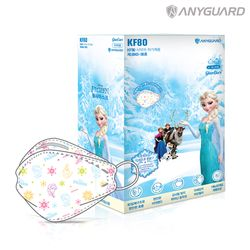 KF80 소형 겨울왕국 마스크 20매 개별포장