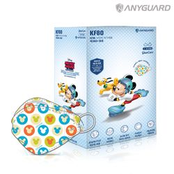 KF80 소형 미키마우스 마스크 20매 개별포장