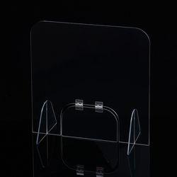 세이프 투명 아크릴 칸막이(도어 창구형) (40x40cm)