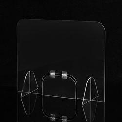 세이프 투명 아크릴 칸막이(도어 창구형) (40x50cm)