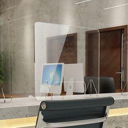 세이프 투명 아크릴 칸막이(오픈 창구형) (40x50cm)