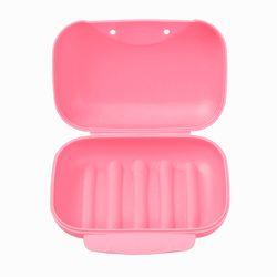 컬러팝 휴대용 비누케이스(12x8cm) (핑크)