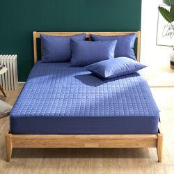 크라운 면 60수 항균 먼지없는 침대 매트리스 커버 Q