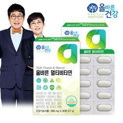 올바른건강 올바른 멀티비타민 2박스(총 2개월분)
