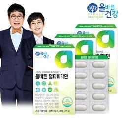 올바른건강 올바른 멀티비타민 3박스(총 3개월분)