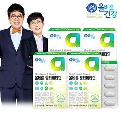 올바른건강 올바른 멀티비타민 4박스(총 4개월분)
