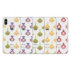 텔레토비 페이스 패턴 클리어케이스 아이폰 7+ 8+