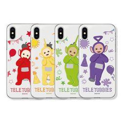 텔레토비 큐티 패턴 클리어케이스 아이폰 7+ 8+