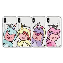 챈치또 클리어케이스 아이폰 7+ 8+