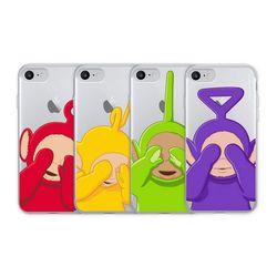 텔레토비 숨바꼭질 클리어케이스 아이폰 7+ 8+