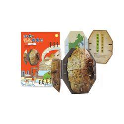 만공세계사 입체퍼즐 - 고대 아시아 갑골문