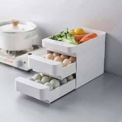 30구 2단 계란보관함 서랍형