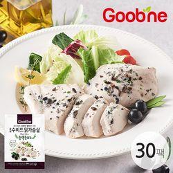굽네 수비드 닭가슴살 블랙올리브 100g 30팩 EB05