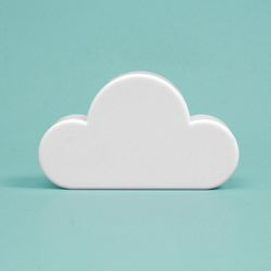 접착식 뭉게구름 자석후크(화이트)
