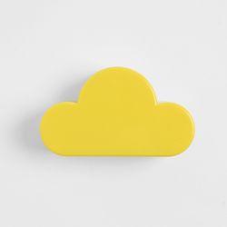 접착식 뭉게구름 자석후크(옐로우)