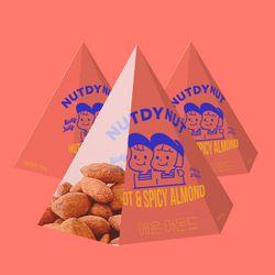 넛디넛 매운아몬드 삼각팩 50g 3개세트