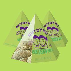 넛디넛 와사비캐슈넛 삼각팩 50g 3개세트
