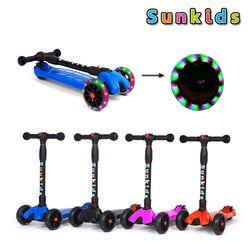 썬키즈 LED 광폭 바퀴 접이식 어린이킥보드