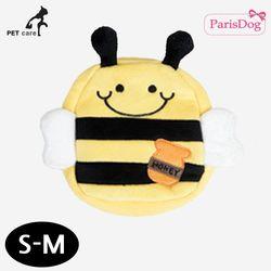 패리스독 백팩 하네스 리드줄 세트 (꿀벌) (S-M)