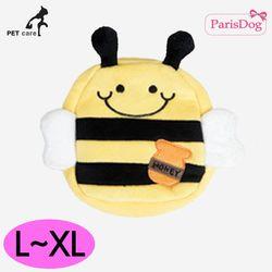 패리스독 귀여워백팩 하네스 리드줄세트 꿀벌 L-XL