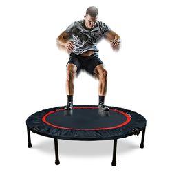 어바인 40인치 성인 트램폴린 점핑머신 다이어트 가정용 접이식