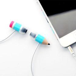 몽땅연필 커널형 스트레오 이어폰 색상랜덤