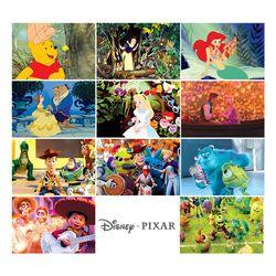 디즈니 픽사 홀로그램 엽서 110