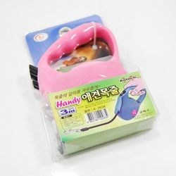 매직크린 핸디애견목줄3M 핑크