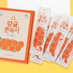 [무료배송] S 제주 감귤쫀득이 1box 12개입