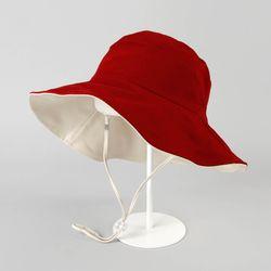 투컬러 양면 와이어 모자